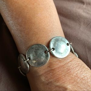 Antique pewter look bracelet